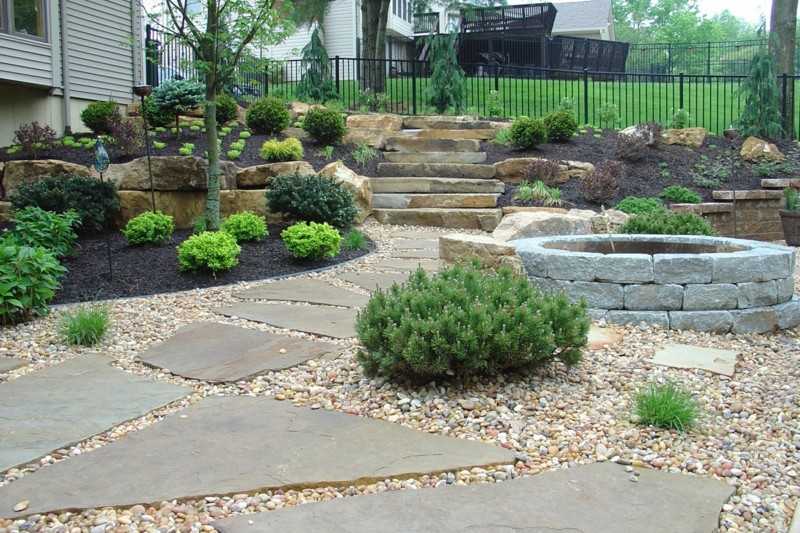 Landscaping In Stone