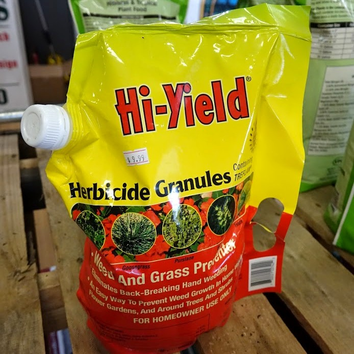Herbicide Granules Weed and Grass Preventer
